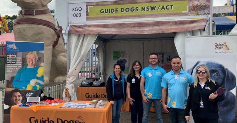 Guide Dogs at the Sydney Royal Easter Show