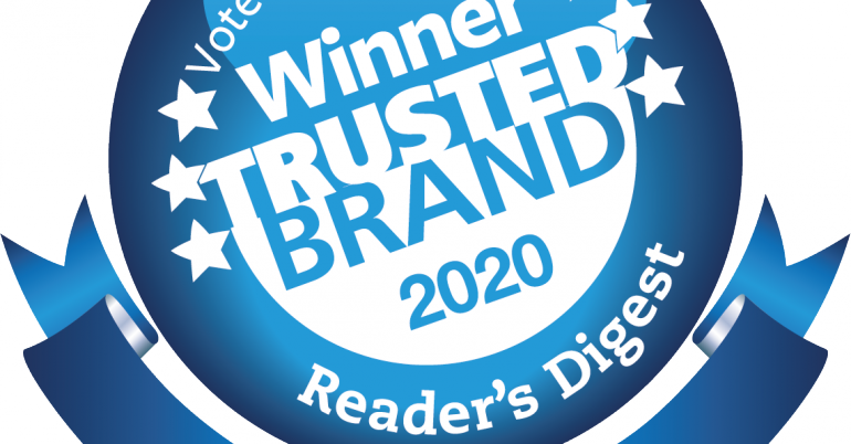 Australia's Most Trusted Charity Brand 2020